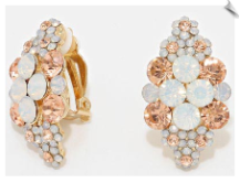 Clip Earrings - Glamour (SKU: SOL6282)