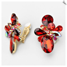 Clip Earrings - Glamour (SKU: SOL6283)