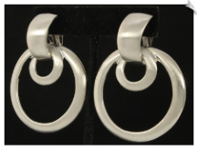 Clip On Earrings - Modern (SKU: SOL6303)