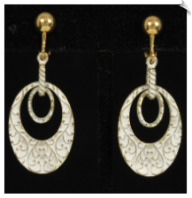 Clip Earrings - Fashion (SKU: SOL6340)
