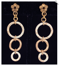 Clip Earrings - Fashion (SKU: SOL6390)