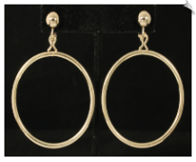 Clip Earrings - Fashion (SKU: SOL6464)