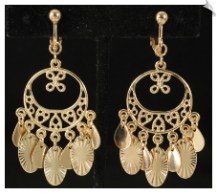 Clip Earrings - Fashion (SKU: SOL6465)