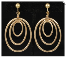 Clip Earrings - Fashion (SKU: SOL6467)