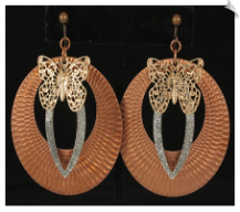 Clip Earrings - Fashion (SKU: SOL6490)