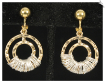 Clip Earrings - Fashion (SKU: SOL6516)