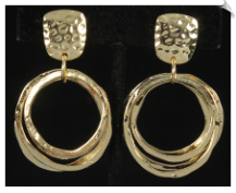 Clip Earrings - Modern (SKU: SOL6525)