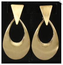 Clip Earrings - Modern (SKU: SOL6526)