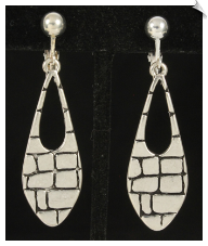 Clip Earrings - Art Deco (SKU: SOL6551)