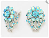 Clip Earrings - Glamour (SKU: SOL6645)