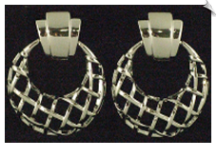 Clip On Earrings-Modern (SKU: SOL6742)