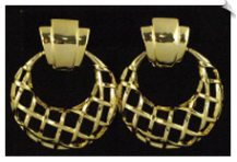 Clip On Earrings - Modern (SKU: SOL6743)