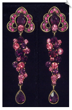 Clip Earrings - Glamour (SKU: SOL6748)
