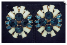 Clip Earrings - Glamour (SKU: SOL6792)