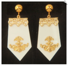 Clip Earrings - Fashion (SKU: SOL6846)