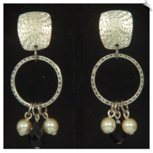 Clip Earrings - Art Deco (SKU: SOL6873)