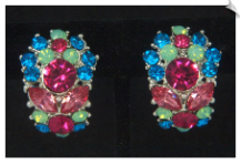 Clip Earrings - Glamour (SKU: SOL6893)