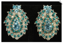 Clip Earrings - Glamour (SKU: SOL7033)