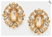Clip Earrings - Glamour (SKU: SOL6268)
