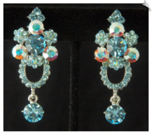 Clip Earrings - Crystal (SKU: SOL6745)