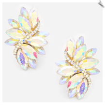 Clip Earrings - Glamour (SKU: SOL6359)