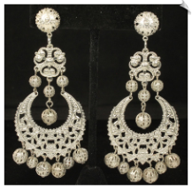 Clip Earrings - Fashion (SKU: SOL7074)