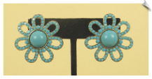 Clip On Earrings - Fashion (SKU: SOL1193)