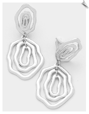 Clip Earrings - Modern (SKU: SOL6370)