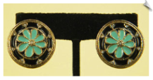 Clip On Earrings-Fashion-Classic (SKU: SOL3379)