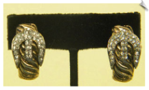 Clip On Earrings- Fashion - Classic (SKU: SOL3391)