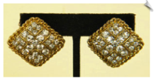 Clip On Earrings-Fashion-Classic (SKU: SOL3208)