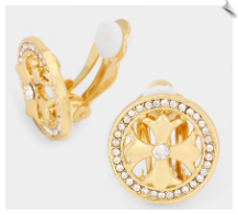 Clip Earrings - Fashion Classic (SKU: SOL6041)