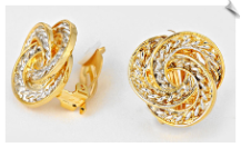 Clip Earrings - Fashion (SKU: SOL6043)