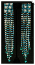 Clip on Earrings- Rhinestone Glamour (SKU: SOL3784)