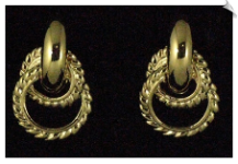 Clip On Earrings - Fashion (SKU: SOL4975)