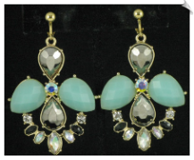 Clip On Earrings - Fashion (SKU: SOL4924)