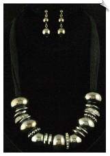 Necklace Set - Silver (SKU: SOL5249)