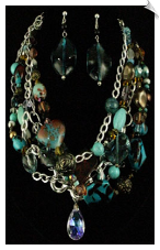 Necklace Set - Blue (SKU: SOL5251)