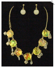 Necklace Set - Gold (SKU: SOL5406)