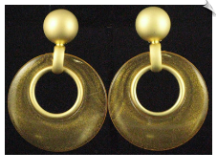 Clip On Earrings - Modern (SKU: SOL4642)