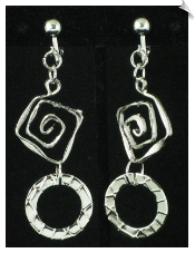 Clip On Earrings - Fashion (SKU: SOL4608)