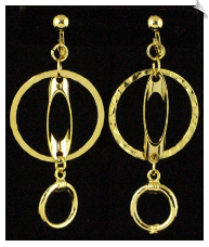 Clip On Earrings - Fashion (SKU: SOL4609)