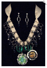 Necklace Set - Silver (SKU: SOL5297)