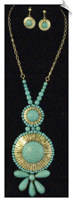 Necklace Set - Blue (SKU: SOL5312)