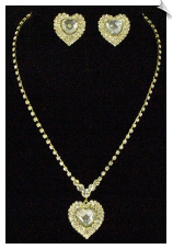 Necklace Sets - Glamour (SKU: SOL5136)