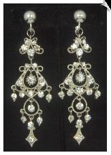 Chandelier clip earrings clip earrings chandelier sku sol6858 aloadofball Gallery