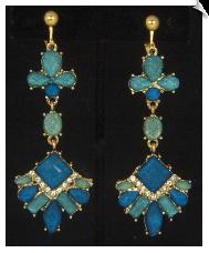 Chandelier clip earrings clip earrings fashion sku sol6906 aloadofball Gallery
