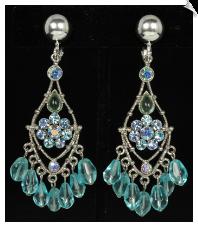 Chandelier clip earrings clip earrings chandelier sku sol6967 aloadofball Gallery