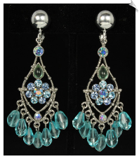 Chandelier clip earrings clip earrings chandelier sku sol6967 aloadofball Images