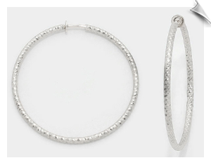 Clip Earrings - Hoops